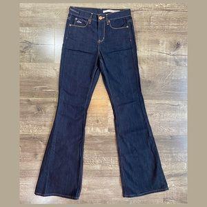 DKNY Dark Flared Prince St Jeans. 26R. Like New.
